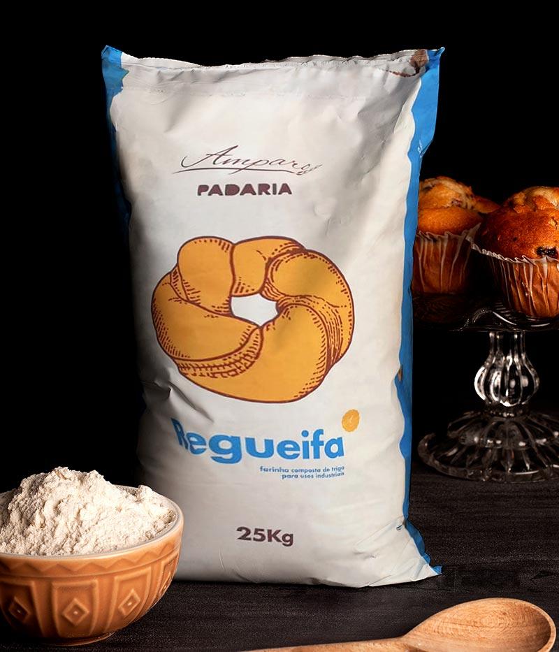 Saco de Amparo Regueifa 25Kg com taça de farinha