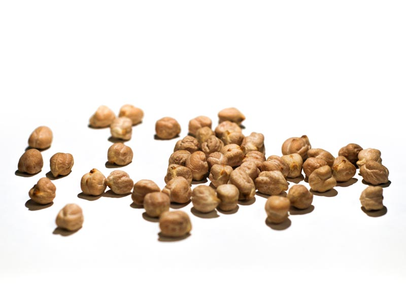 Grãos de milho secos