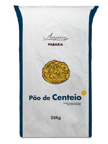 Saco 25KG Amparo Padaria Pão de Centeio