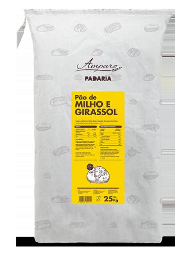 Saco 25KG Amparo Pão Milho e Girassol