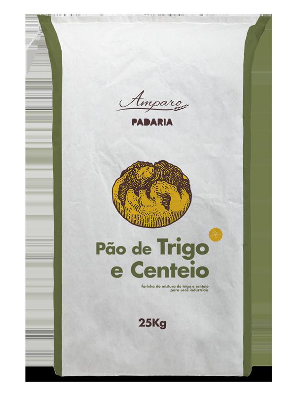 Saco 25KG Amparo Padaria Pão de Trigo e Centeio