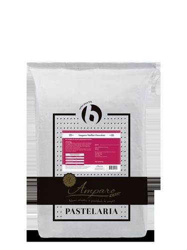 Saco 25KG Amparo Pastelaria Muffin Chocolate